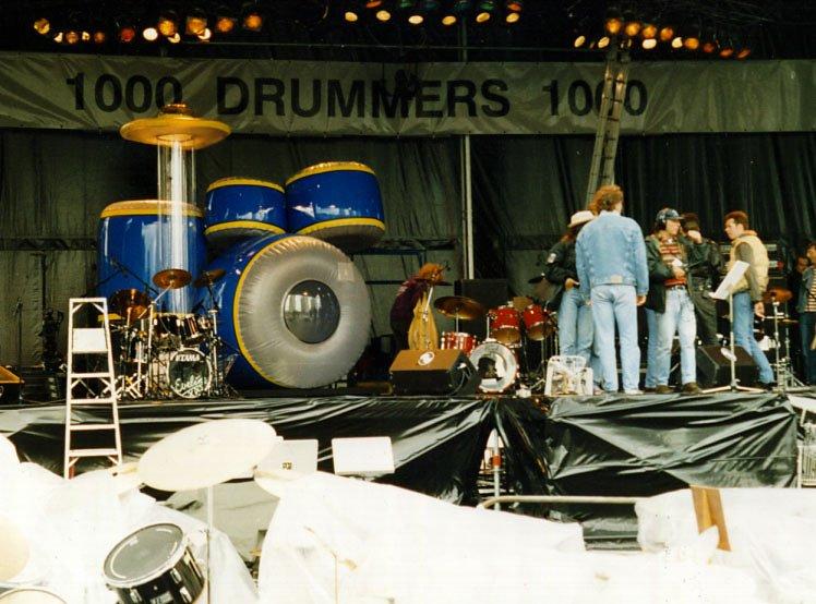 1992 Giant drumkit 2